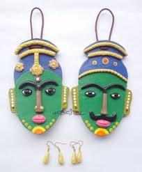 Small Picture Wall Hanging Terracotta wall hanging mask online shopping for