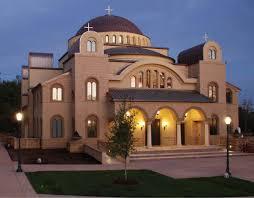 Greek Orthodox Church Design St Nektarios Greek Orthodox Church Sc Hondros