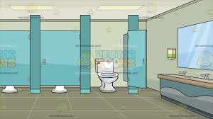 public bathroom clipart. Contemporary Bathroom A Public Bathroom With Cubicles Background Throughout Clipart S