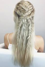 french braid prom hair
