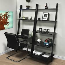 office desk shelving. Wonderful Shelving Home Office Desk With Shelves Leaning Shelf Bookcase Computer Furniture Inside Shelving