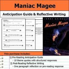 sample essay about maniac magee essay maniac magee is about a boy who struggled throughout his life organize your thoughts and more at our handy dandy shmoop writing lab