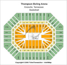 Thompson Boling Arena Seating Chart With Rows 38 Described Thompson Boling Arena Seating Chart For Eagles