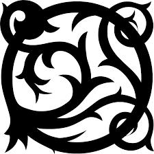 Svg орнамент тату украшение процветать свободное изображение и