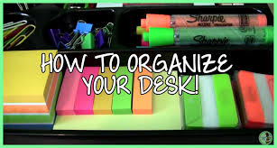organizing office desk. Organizing Your Office Desk Ambelish 30 How To Organize YouTube