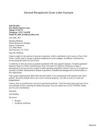 Resumes That Noticed Medical Receptionist Cover Letter Sample