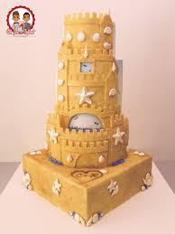 Sandcastle Wedding Cake By Cake Révol Cakesdecor