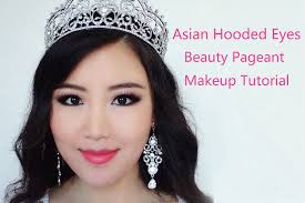 asian beauty pageant makeup tutorial asian hooded eyes smokey makeup