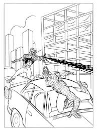 Spider Man Coloring Pages Venom L L L