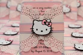 hello kitty jingvitations doily invitations hello kitty 5