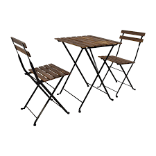 folding chairs and tables.  Folding IKEA Tarno Folding Table And Two Chairs Tables  Inside And U