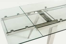 Expandable Glass Dining Room Tables Interior New Design Ideas