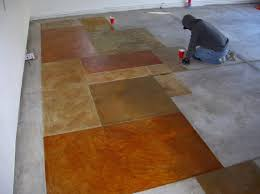 Stained Concrete Kitchen Floor 17 Best Images About Stained Concrete On Pinterest Stains