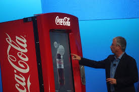 Secret Code For Vending Machines Amazing This Coke Machine Has An Intel Core I48 Processor And Can Take Your