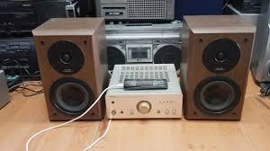bộ dàn denon f07 loa f88 chỉ 5.200.000 nghe hay lắm. giá lẻ amply 2.7tr và  loa 2.8tr. lh 0966594581 - YouTube
