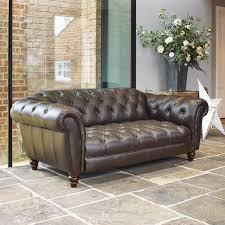 companies wellington leather furniture promote american. Wellington 2 Seater Semi Aniline Leather Chesterfield Sofa, Chocolate Companies Furniture Promote American