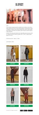Newsletter Format Examples Fashion Newsletter Examples Gallery Mailerlite