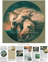 pharaohs horses print by j f herring