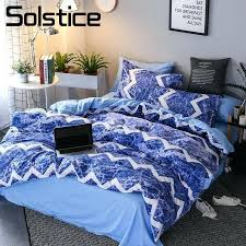 blue and white striped duvet cover for the house solstice home textile stripe blue ocean waves