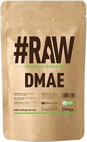 #RAW <b>DMAE</b> - <b>100</b>% Dimethylethanolamine - <b>250mg</b> V Caps ...