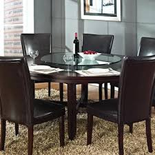 silver inch round dining table in dark oak hft from beyond s 72 and chairs hfthtml rustic dining table farmhouse room in ideas inch 72 round cloth