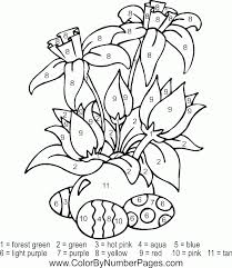 Once you try this color therapy, you will color around the clock! Free Printable Paint By Numbers For Adults Coloring Home