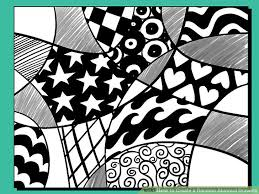 Pattern Drawing Adorable How To Create A Random Abstract Drawing 48 Steps With Pictures