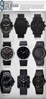 17 best ideas about black watches black michael 9 beautiful black on black watches
