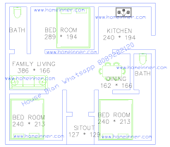 home plan naksha best of free 500 square feet 3 bed room single floor plan