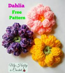 Crochet Flowers Patterns Cool 48 Crochet FLOWER Patterns Floral Fixation