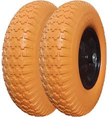 Sold by arlank57 an ebay marketplace seller. Amazon Com 4 80 4 00 8 Tire And Wheel 5 8 Bearing 16 Flat Free Wheelbarrow Tire Foamed Polyurethane Tire For Garden Outdoor Cart Wagon 3 5 Hub Garden Outdoor