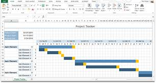 Project Tracking Gantt Chart Excel This Downloadable Is A Sample Gantt Chart Created In