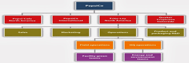 Pepsico Structure Chart Leadership And Leadership In Business Structure Of The