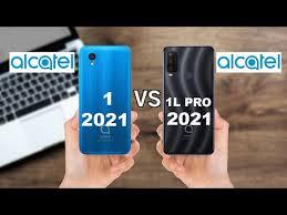 ALCATEL 1 2021 VS ALCATEL 1L PRO 2021 ...