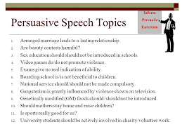 uhl introduction to public speaking ppt persuasive speech topics