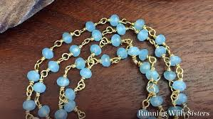 make a pendant necklace with gemstone chain with this jewelry making tutorial in this