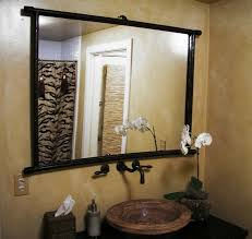 Small Bathroom Vanity Mirror Ideas Classic Carving Framed Wall