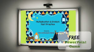 Camping Multiplication Division Powerpoint Game The Curriculum