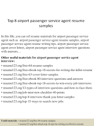 Passenger Service Agent Resume Free Resume Example And Writing