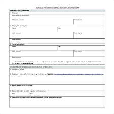 Injury Incident Report Template Stunning Workplace Accident Daily
