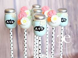 Mason Jars Daisies Cake Pops Cake Pops Decorated Cake Pop