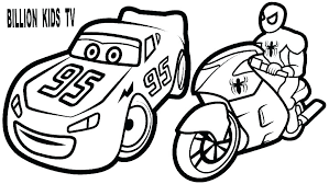 Coloring Pages Lightning Mcqueen Coloring Cars 2 Pages 9 Graphic