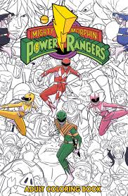 Add the brightest colours you can find and pain. Preview Mighty Morphin Power Rangers Adult Coloring Book Cbr