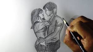 Pencil Sketches Of Couples Love Pencil Drawings Magdalene Project Org