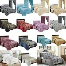 luxury 7 piece jacquard bedspread