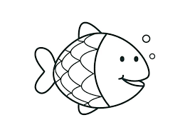 Loaves And Fishes Printable Coloring Pages Free Tropical Fish