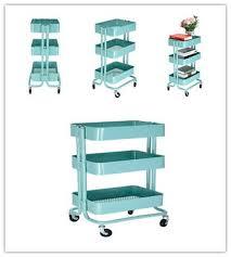 office trolley cart. 3 Tier Rolling Storage Kitchen Office Trolley Cart Fruit Vegetable Rack Wheels T