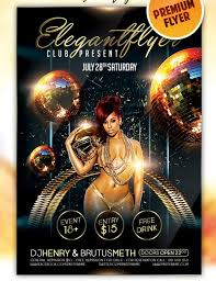 club flyer templates club party flyer templates free nightclub flyer designs pertaining