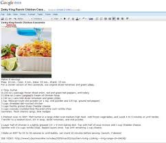 google doc recipe book template the perfect recipe organizer google docs its free meals to