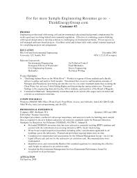 Resume For Mechanical Engg Mechanical Engineering Resume Template Entry Level Engineering